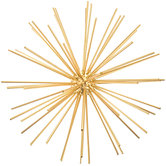Gold Burst Metal Wall Decor